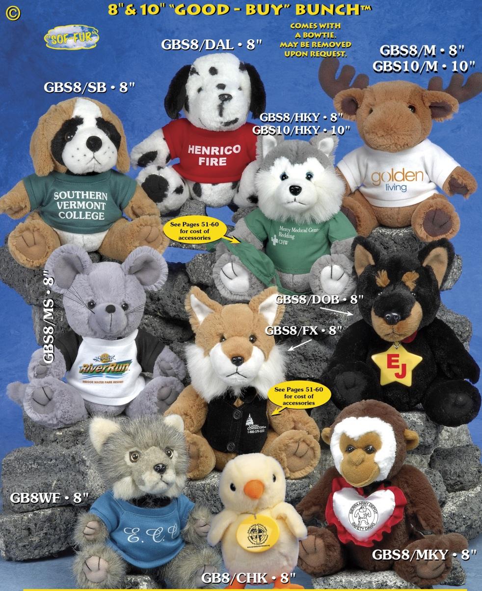 custom stuffed animals good buy bunch