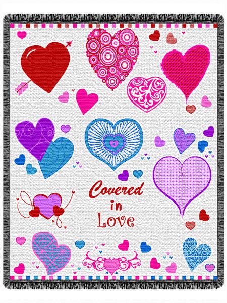 Valentines Throw Blanket